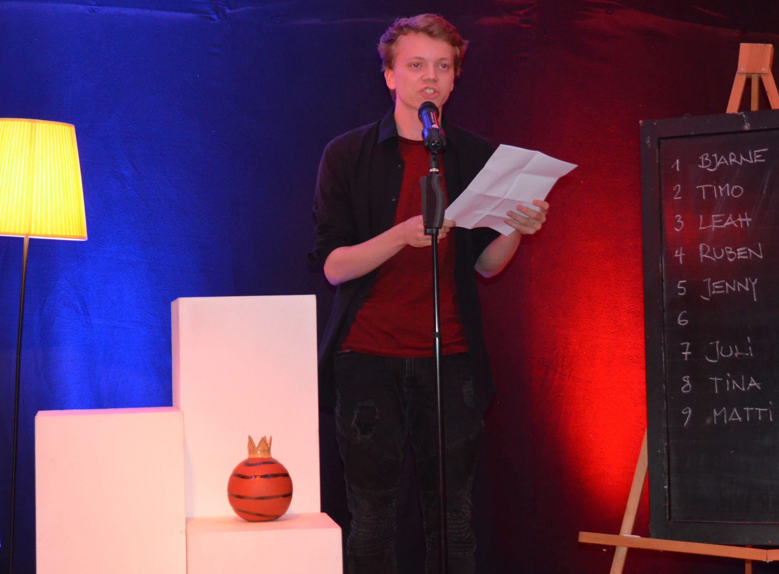 15. Poetry Slam-Abend